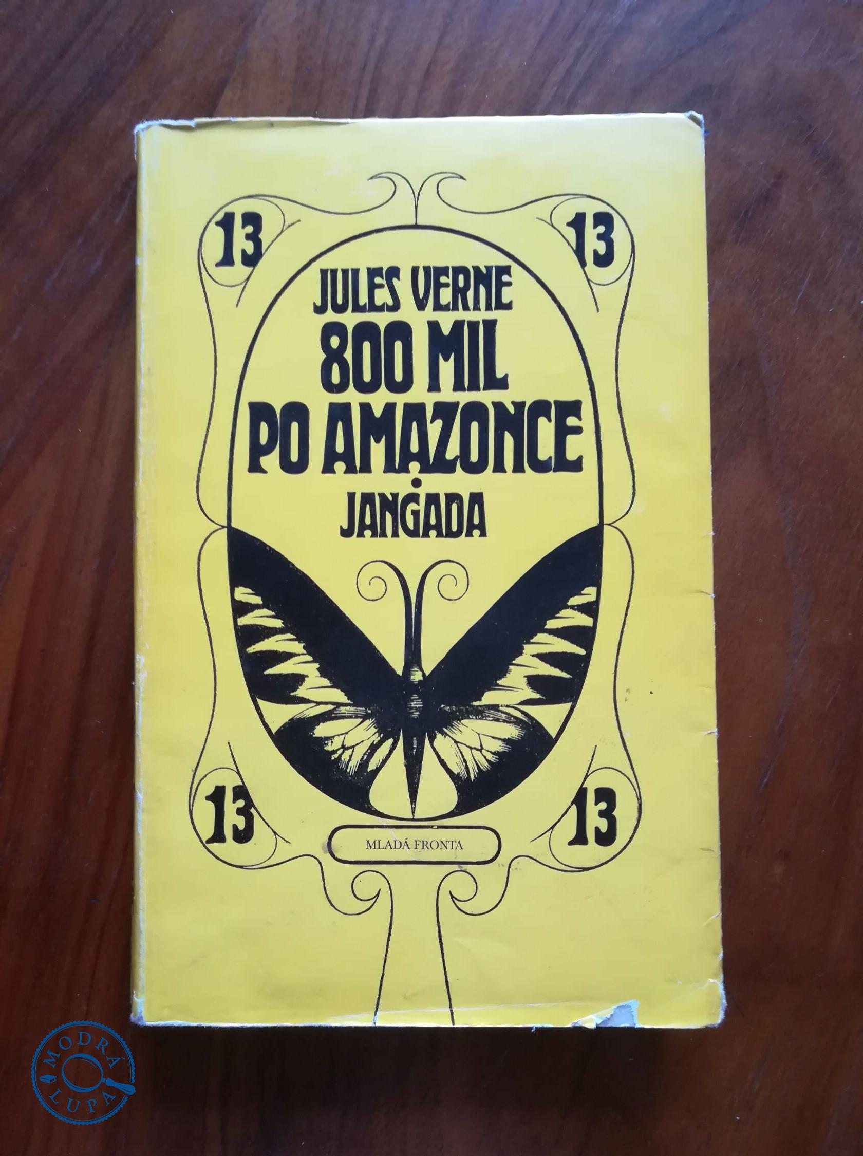 JULES VERNE - 800 mil po Amazonce