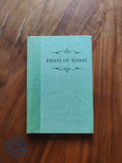 F. H. PRITCHARD, W. H. MASON - Essays of Today